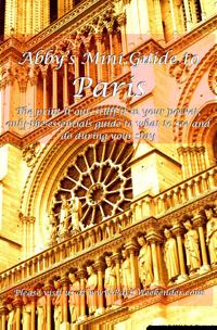 Abby's Mini Guide to Paris