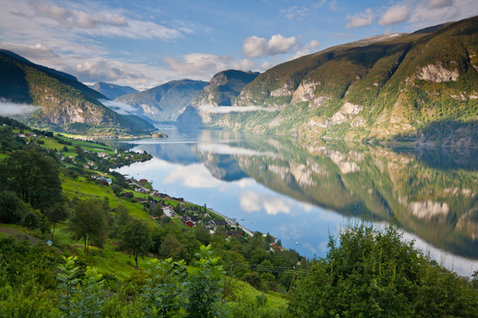 Overlooking Aurlandsfjord – Aurland, Norway: Whygo.com Photo of the Day!