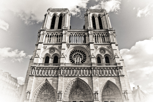 Sound and Light Show at Notre Dame