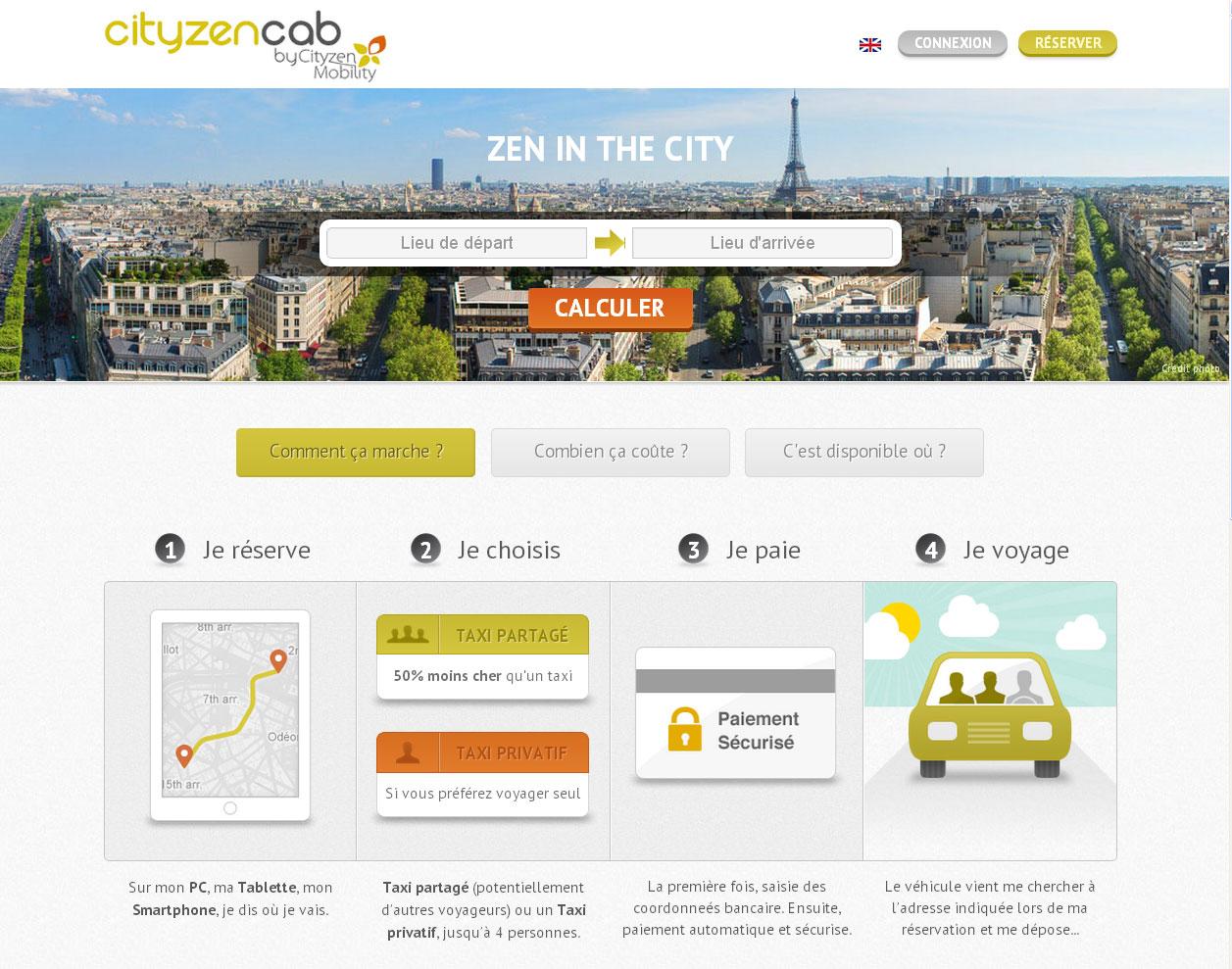CityzenCab-HomePage