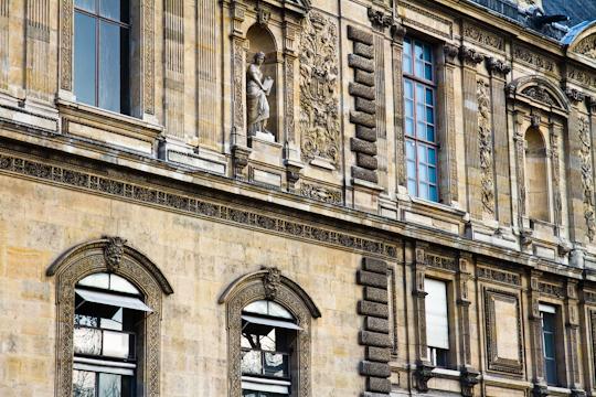 The Louvre, southern facade, Paris