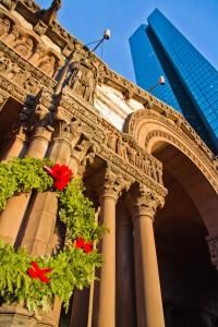 Trinity Church and the John Hancock Building, Copley Square, Boston