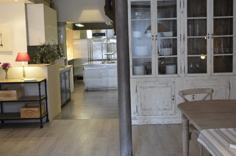 Armoire and Kitchen