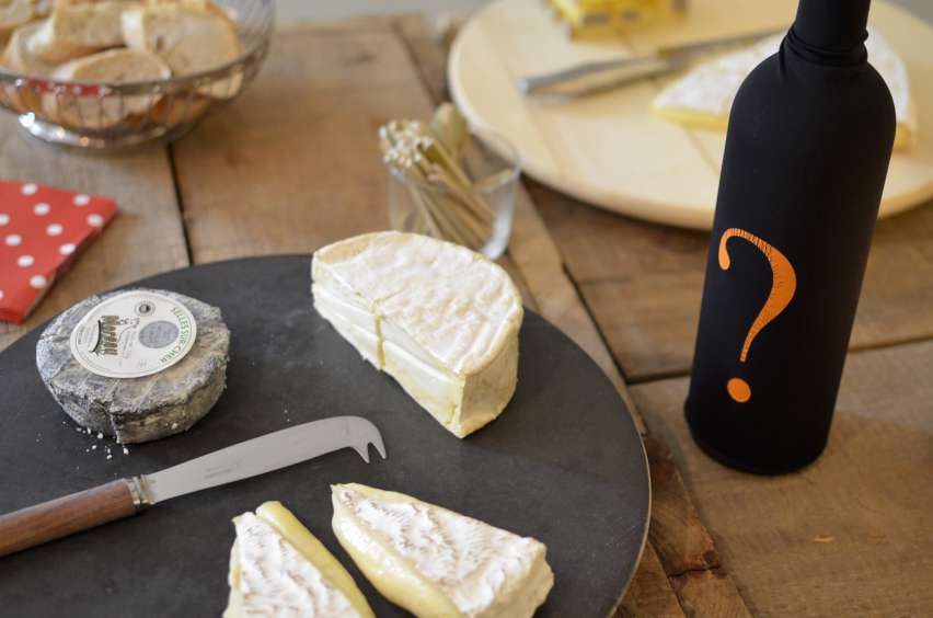 Fromage and Blind Tasting Wine-852