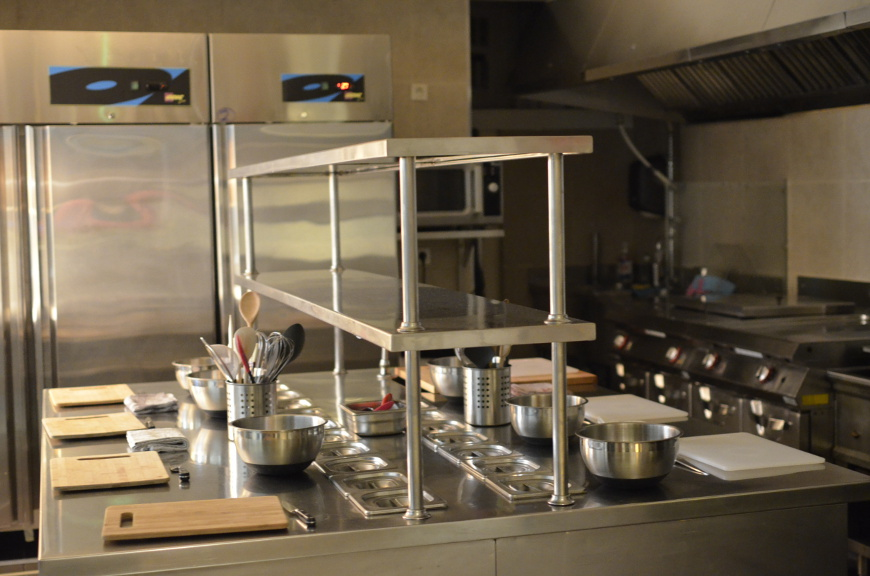 Professional Kitchen at Le Foodist Pre Class