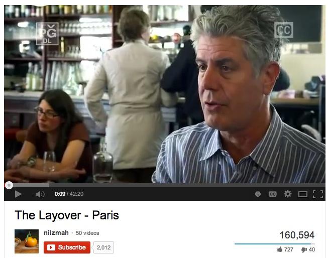Layover A Bourdain