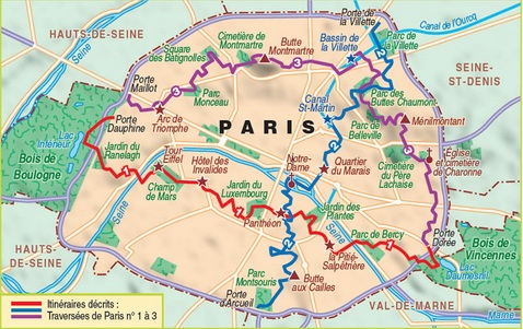 Paris Hikes