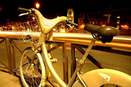 Paris's Bike Paths