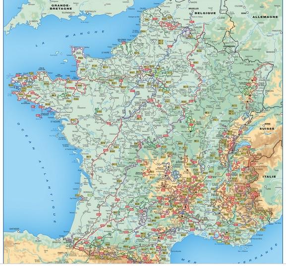FFRandonnee map