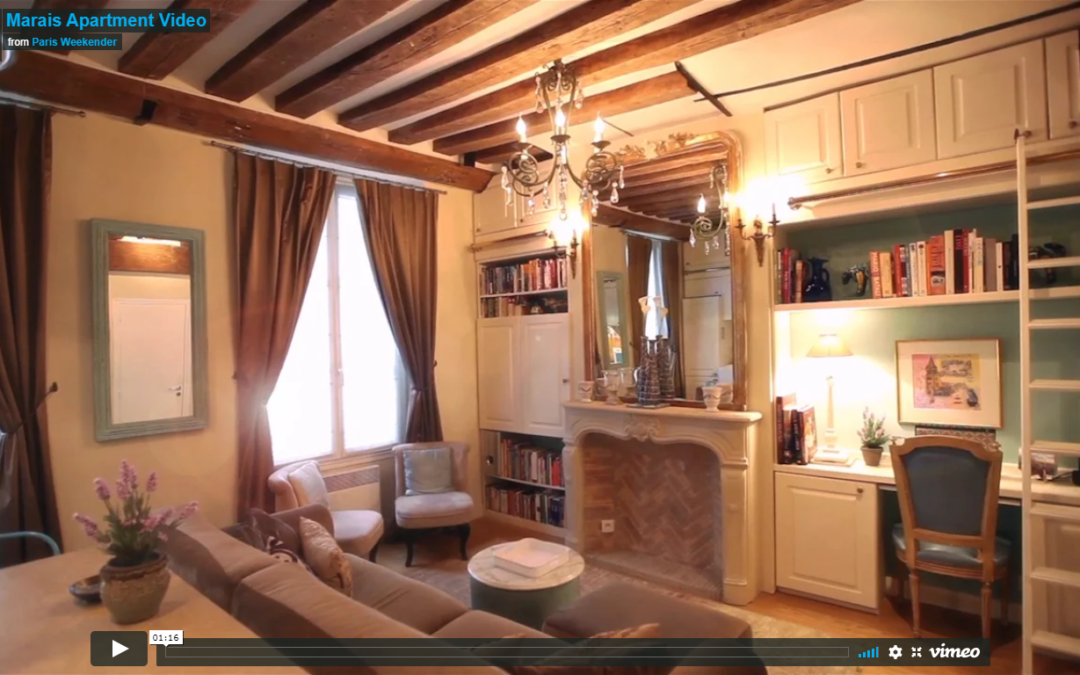 Video of my Marais Apartment