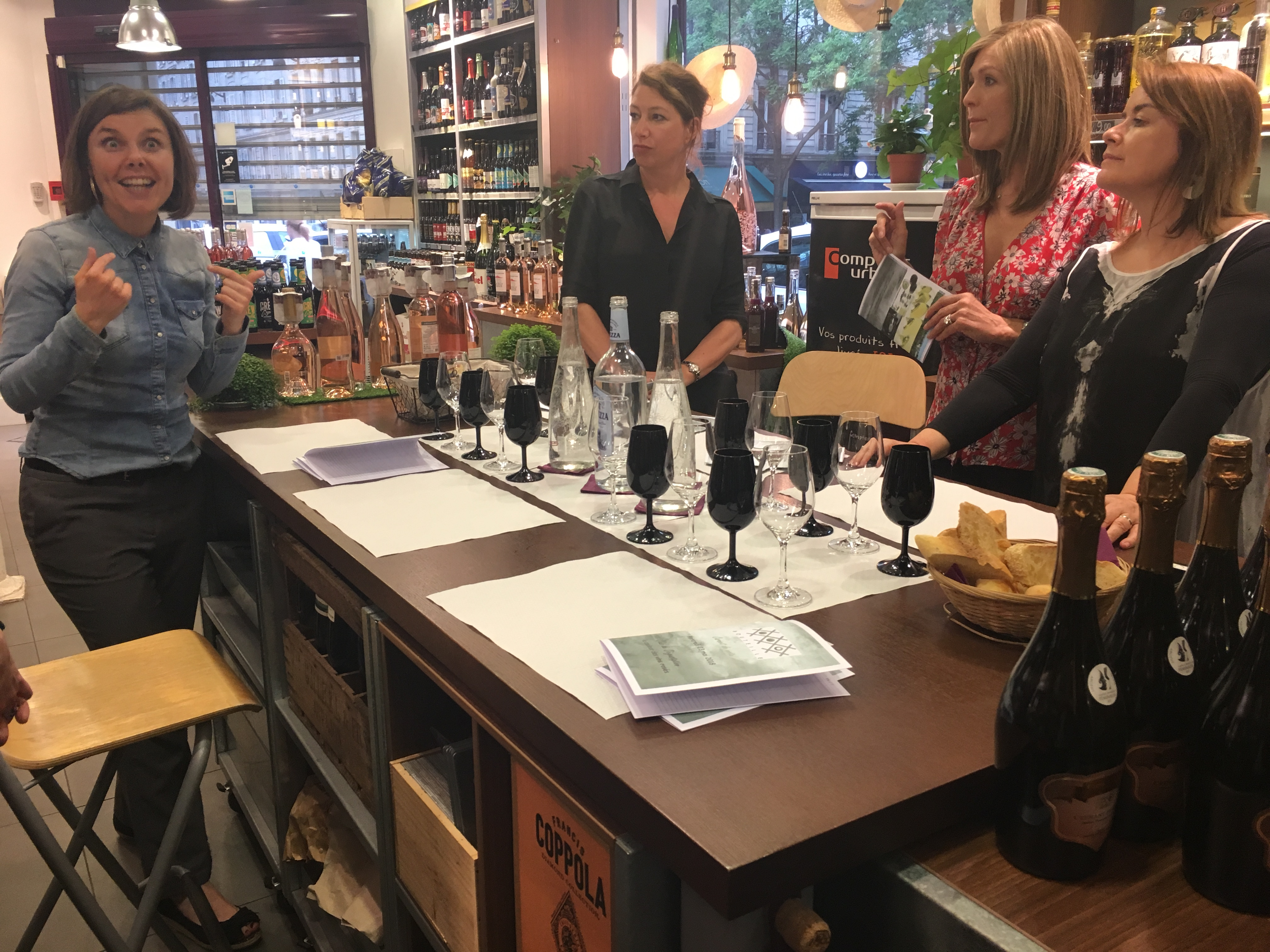 Wine Tasting at Cave Bouteille