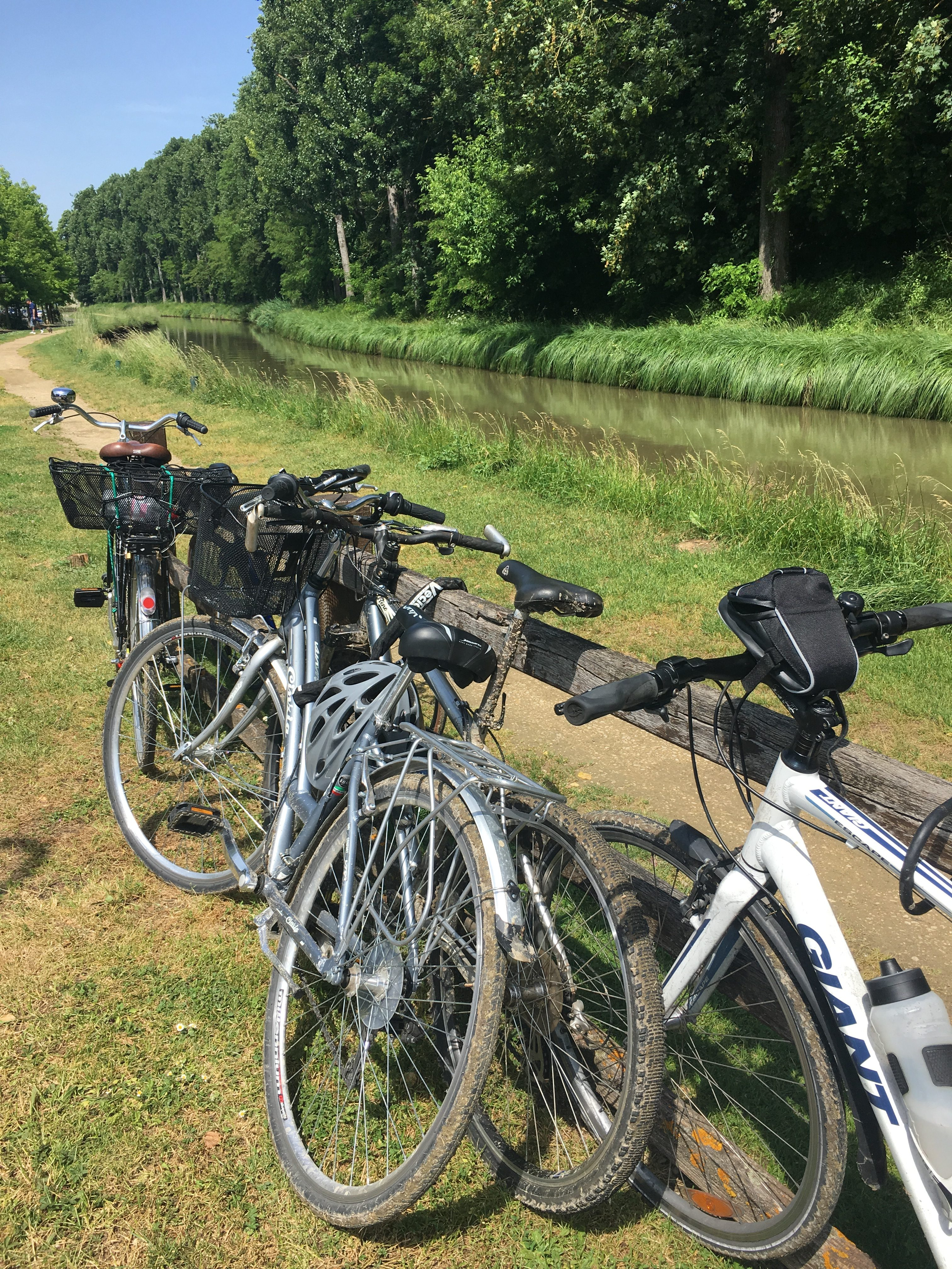 Cycling from Meaux to Paris