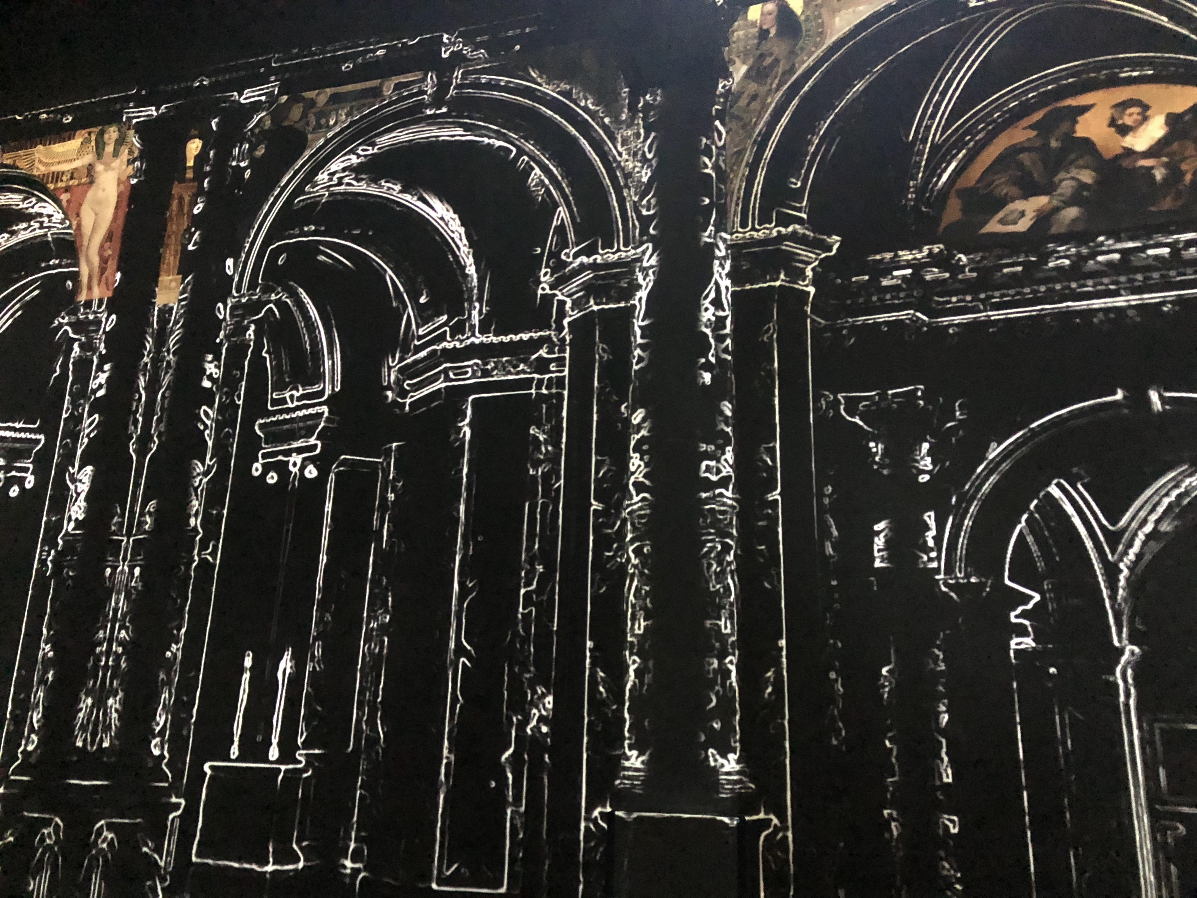 Klimt at the Atelier des Lumières